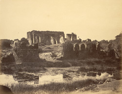 View of the Gagan Mahal or durbar hall, Bijapur